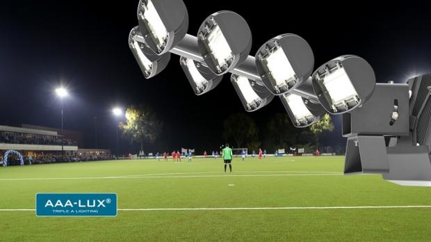 AAA-LUX lancerer 6. generation af vores LED floodlights